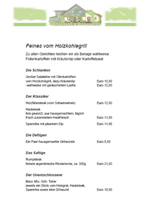 Feines vom Holzofengrill - Alte Liebe in Dachau